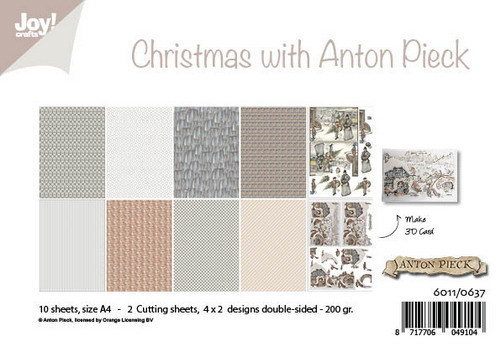 Joy Paper Pack - christmas with Anton Pieck