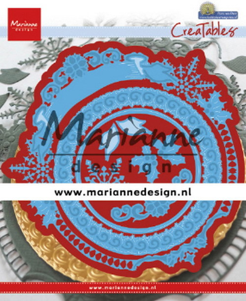 Creatables Marianne Design - Petra's Winter Circle