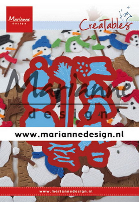 Creatables Marianne Design - Tiny's Frosty Snowmen