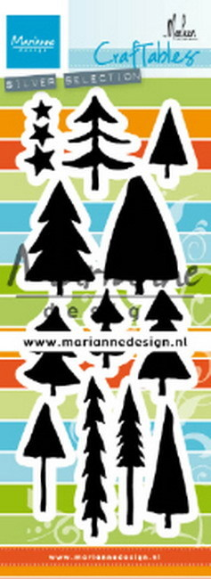 Craftables Marianne Design - Trees by Marleen