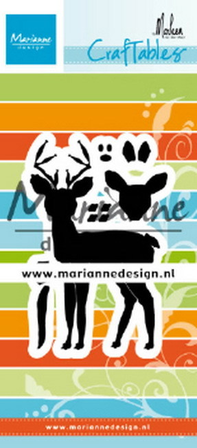 Craftables Marianne Design - Deer by Marleen
