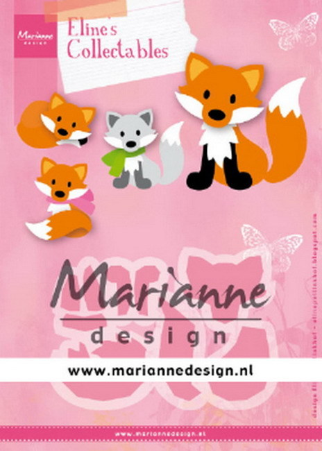 Collectables Marianne Design - Eline's Cute Fox