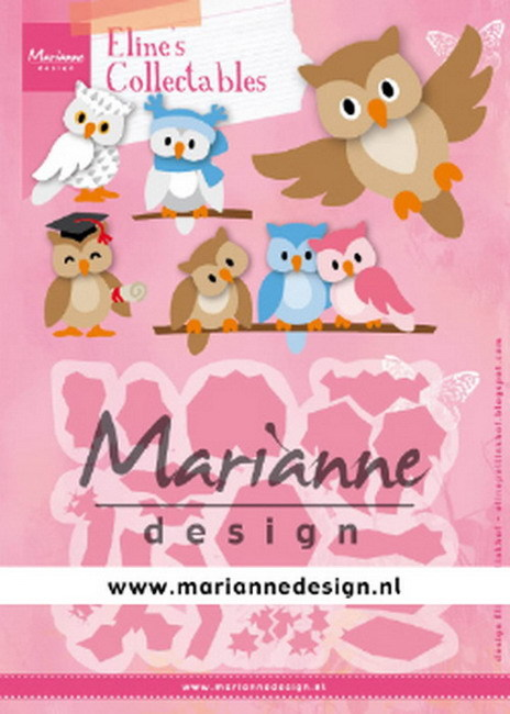 Collectables Marianne Design - Eline's Owl