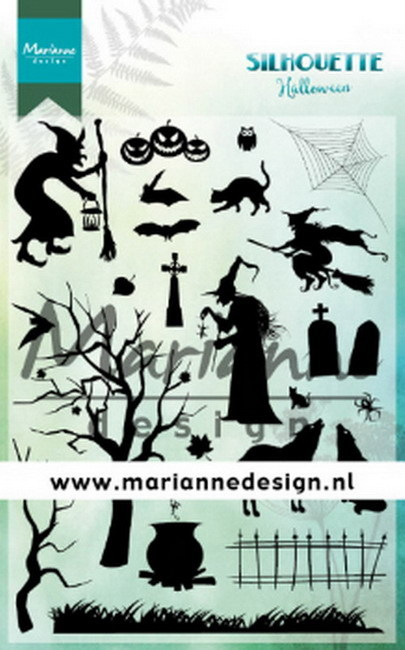 Clearstamps Marianne Design - Silhouette Halloween