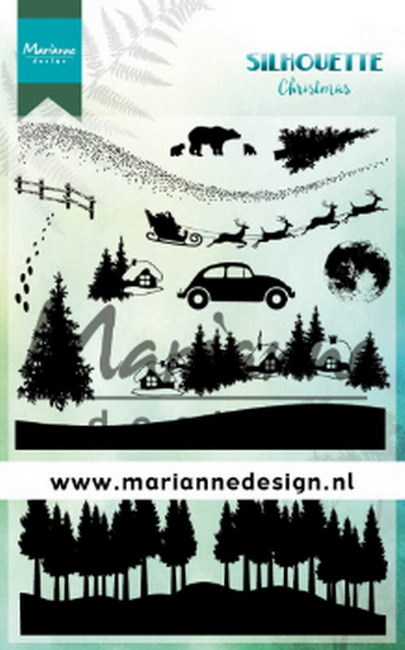 Clearstamps Marianne Design - Silhouette Christmas