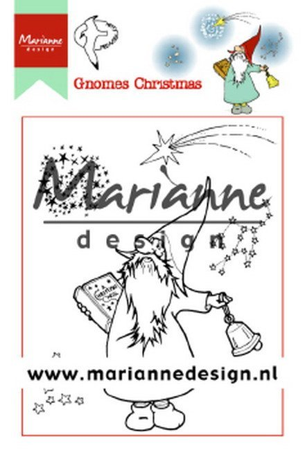 Clearstamps Marianne Design - Gnomes Christmas