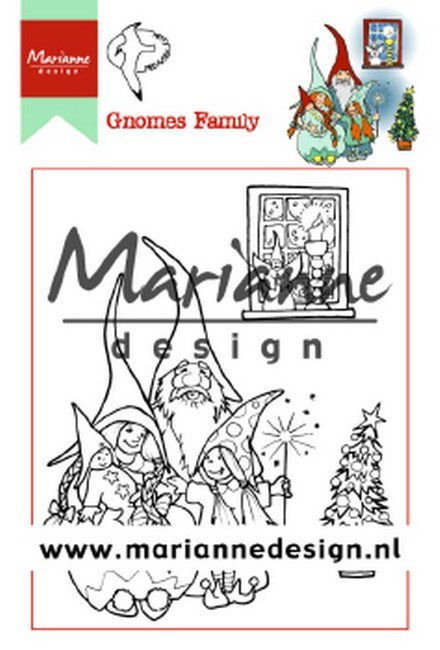Clearstamps Marianne Design - Gnomes Family