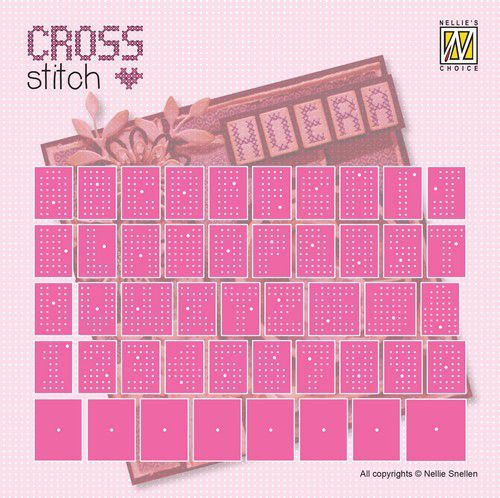 Nellie Snellen Cross Stitch set - alphabet and numbers