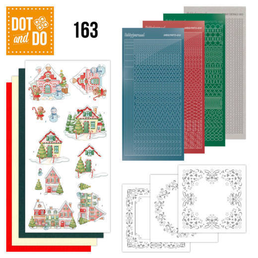 Dot & Do Hobbydots Pakket - sweet houses