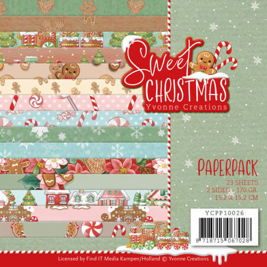 Paper Pack Yvonne Creations - Sweet Christmas
