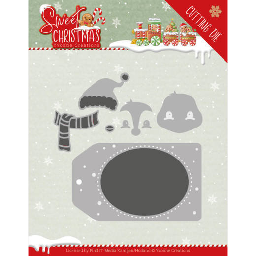 Yvonne Creations Stans - Sweet Christmas - penguin