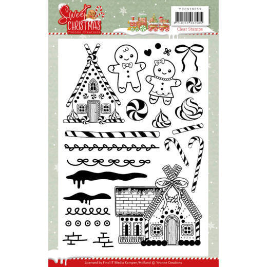 Clearstamps Yvonne Creations - Sweet Christmas