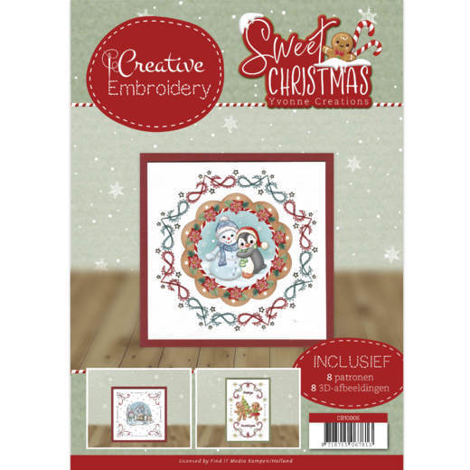 Creative Embroidery Yvonne Creations - Sweet Christmas