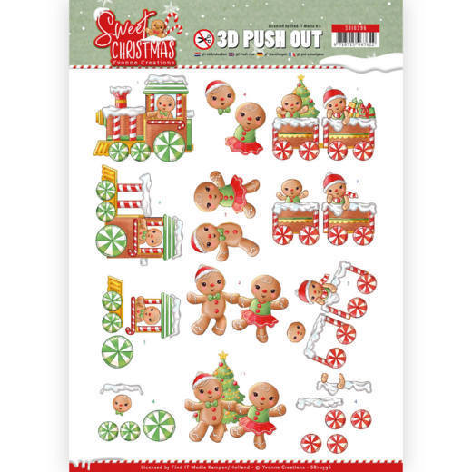 Stansvel Yvonne Creations - Sweet Christmas SB10396