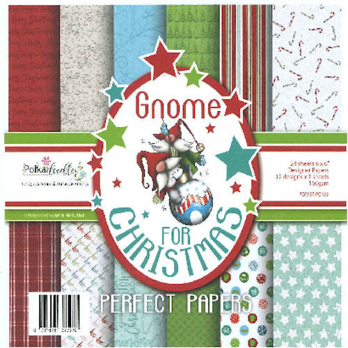 Polkadoodles Paper Pack - Gnome for Christmas