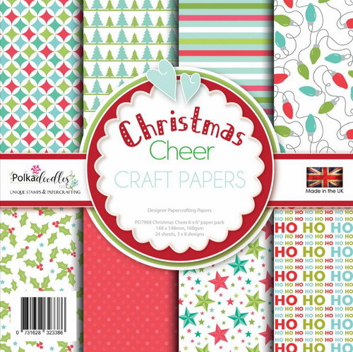 Polkadoodles Paper Pack - Christmas Cheer