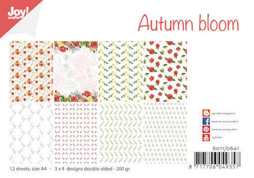Joy Paper Pack - autumn bloom