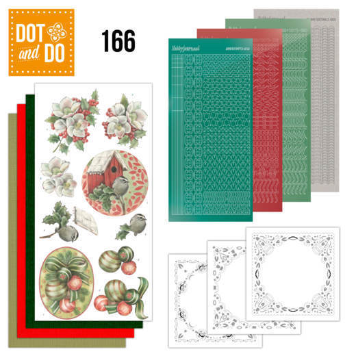 Dot & Do Hobbydots Pakket - christmas decorations