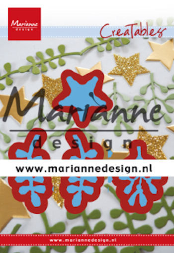 Creatables Marianne Design - christmas green
