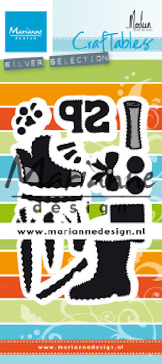 Craftables Marianne Design - By Marleen - sinterklaas