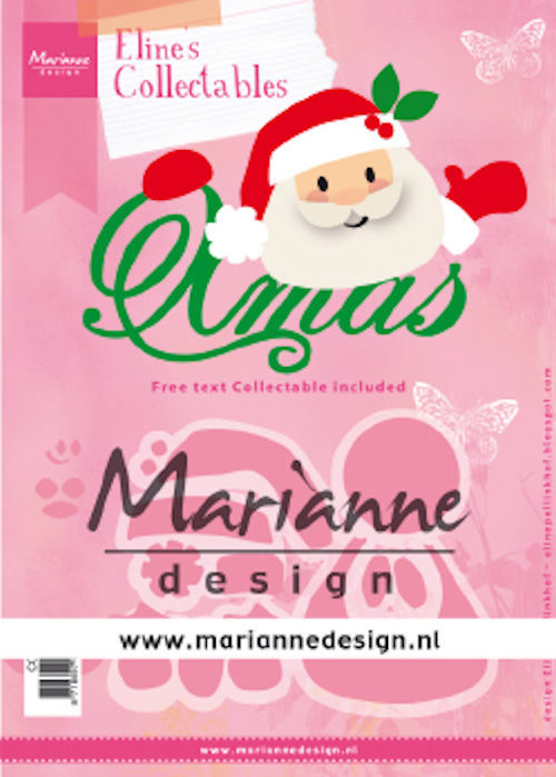 Collectables Marianne Design - Santa Xmas