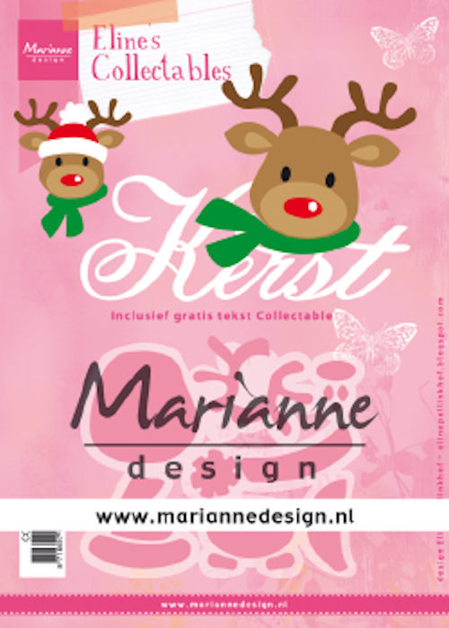 Collectables Marianne Design - Eline's Rendier Kerst