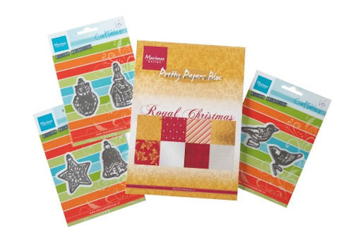 Marianne Design Set - Royal Christmas & Craftables