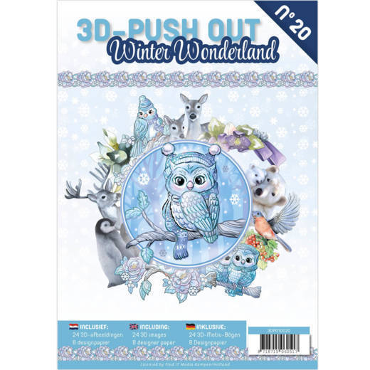 3D Push Out Book - winter wonderland