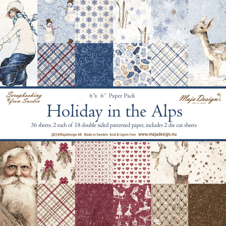 Paper Pad Maja Design - Holiday in the Alps