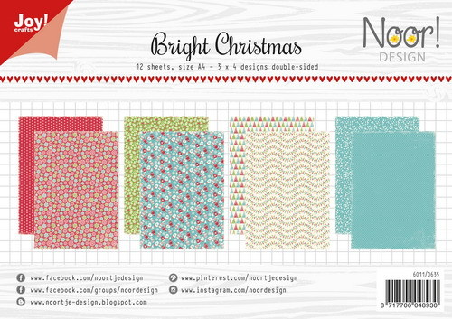 Joy Paper Pack - Bright Christmas