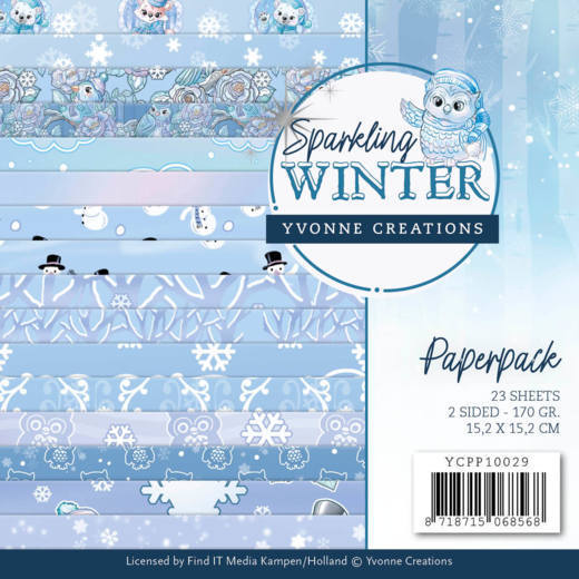 Paper Pack Yvonne Creations - Sparkling Winter