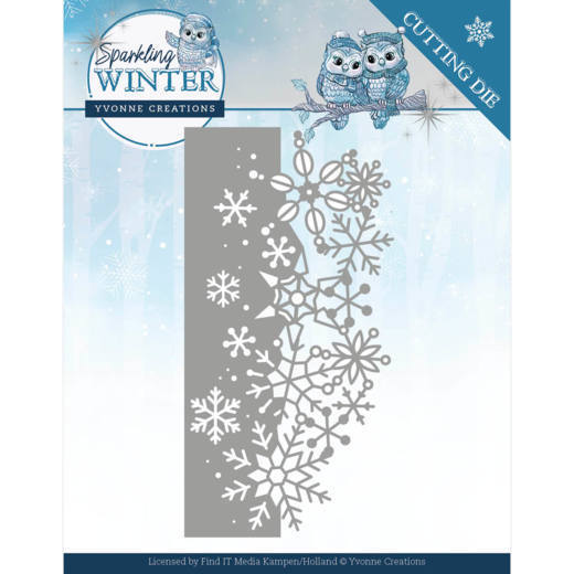 Yvonne Creations Stans - Sparkling Winter - sparkling border