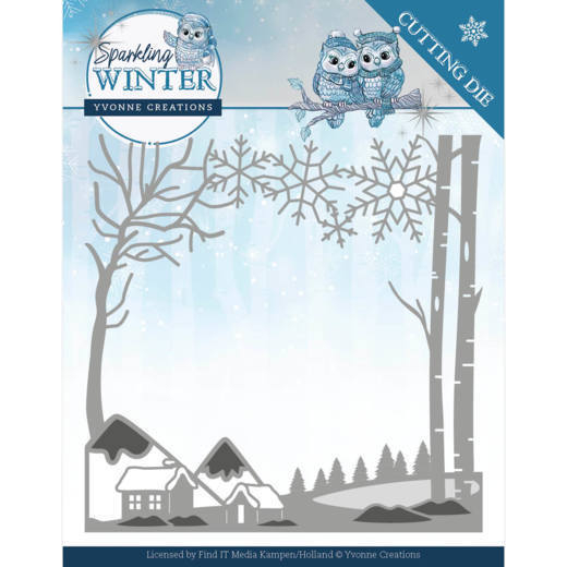Yvonne Creations Stans - Sparkling Winter - winter landscape