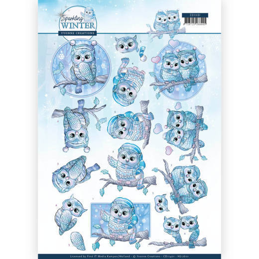 Knipvel Yvonne Creations - Sparkling Winter CD11401