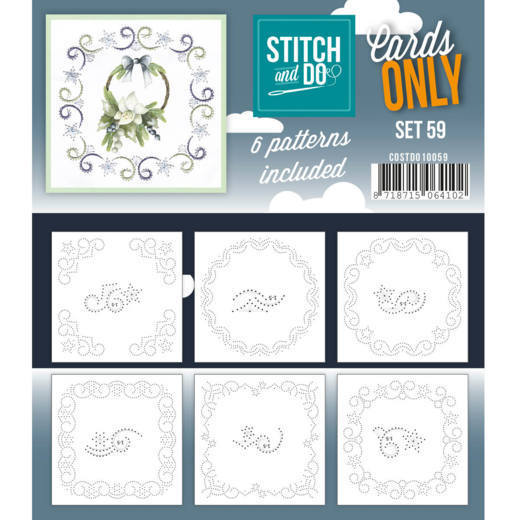 Stitch and Do Cards Only - set 59