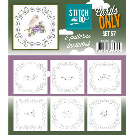Stitch and Do Cards Only - set 57