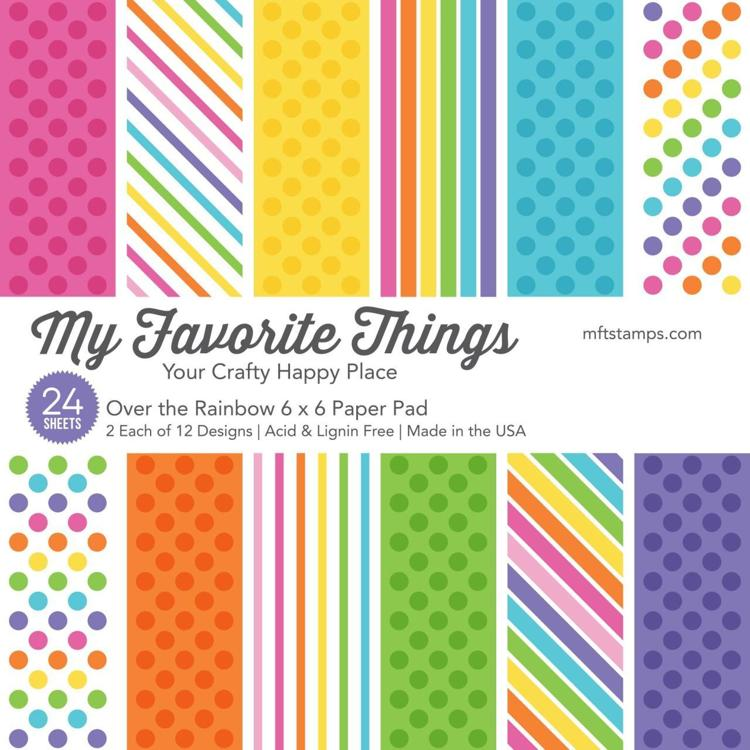 My Favorite Things Paper Pad - Over the Rainbow