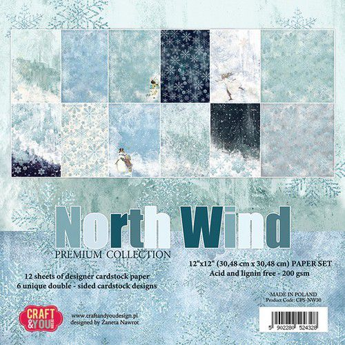 Craft & You Big Paper Pad - North Wind