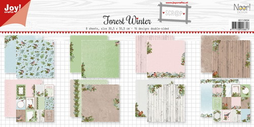 Joy Paper Pack - Forest Winter