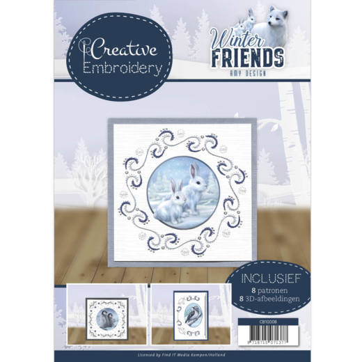 Creative Embroidery Amy Design - Winter Friends