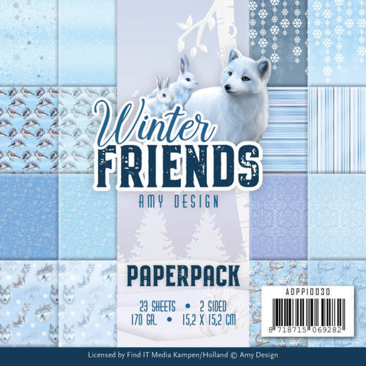 Paper Pack Amy Design - Winter Friends