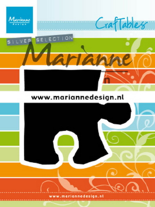 Craftables Marianne Design - puzzle piece