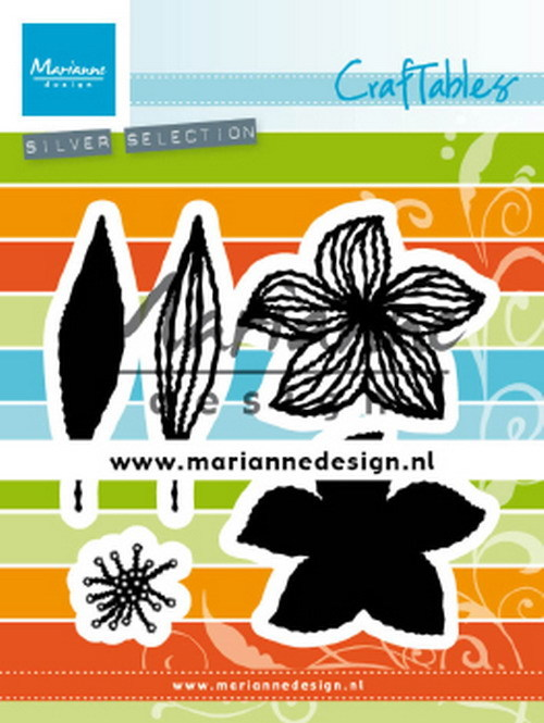 Craftables Marianne Design - open flowers
