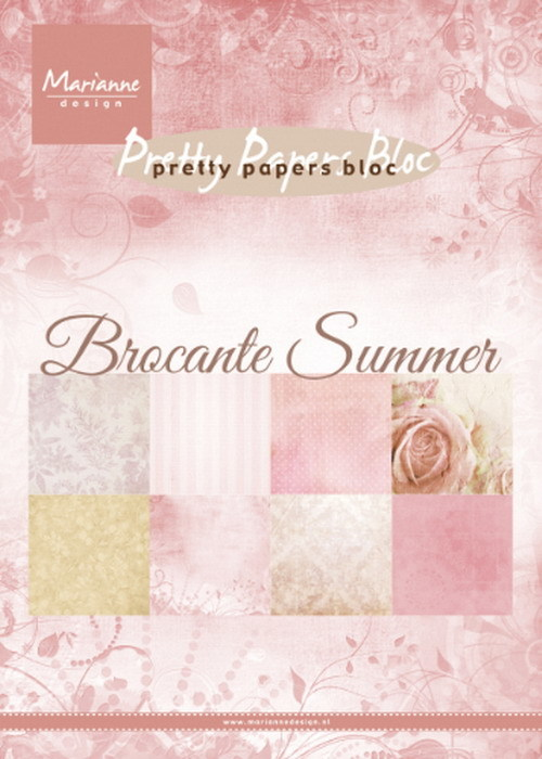 Pretty Papers Bloc - Brocante Summer