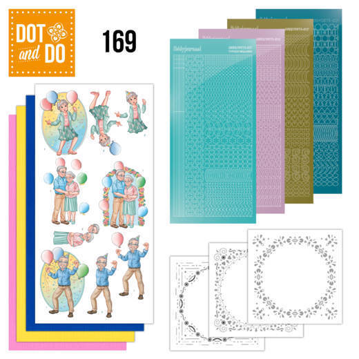 Dot & Do Hobbydots Pakket - party together