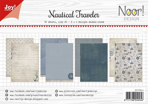 Joy Paper Pack - Nautical Traveler