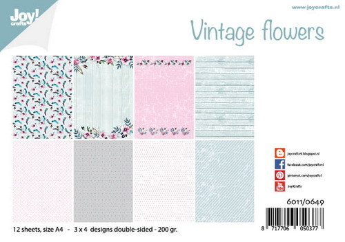 Joy Paper Pack - Vintage Flowers