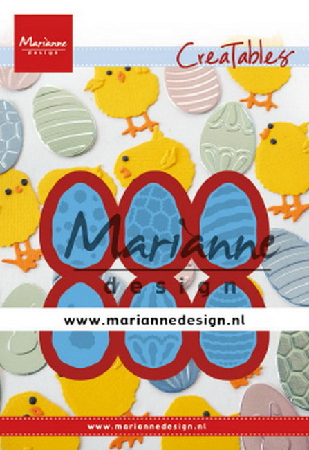 Creatables Marianne Design - easter eggs