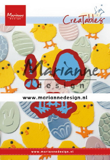 Creatables Marianne Design - Tiny's easter chick