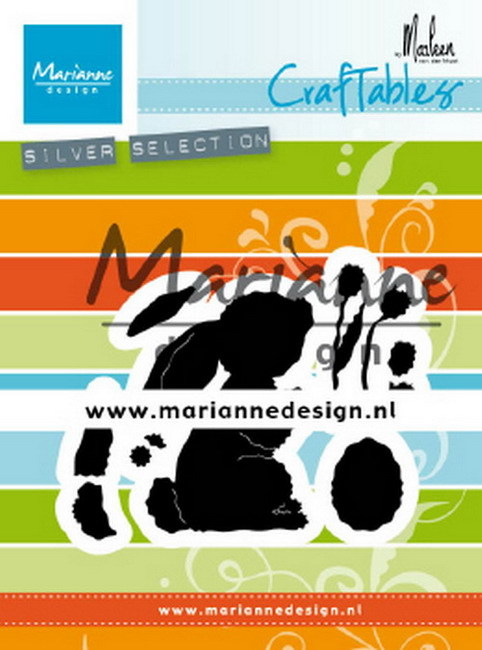 Craftables Marianne Design - bunny By Marleen
